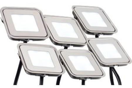 Набор KT-S-6x0.6W LED White 12V (квадрат)