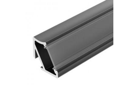 Профиль ALM-V60-2000 ANOD Black