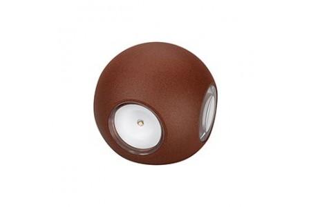 Светильник LGD-Wall-Orb-4R-8W Warm White