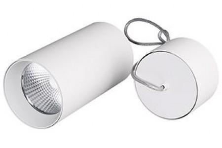 Светильник подвесной SP-POLO-R85-2-15W Warm White 40deg (White, White Ring)