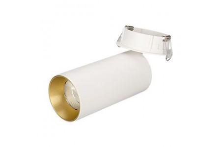 Светильник SP-POLO-BUILT-R65-8W Day4000 (WH-GD, 40 deg)