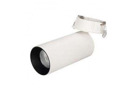Светильник SP-POLO-BUILT-R65-8W White5000 (WH-BK, 40 deg)