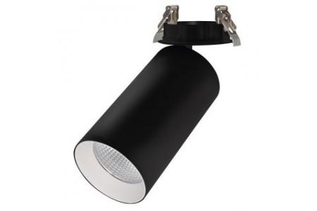 Светильник SP-POLO-BUILT-R95-25W Warm3000 (BK-WH, 40 deg)