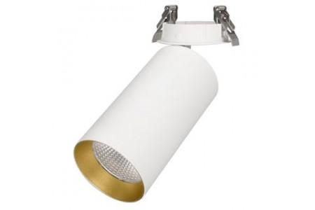 Светильник SP-POLO-BUILT-R95-25W Warm3000 (WH-GD, 40 deg)