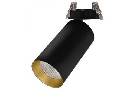 Светильник SP-POLO-BUILT-R95-25W White5000 (BK-GD, 40 deg)