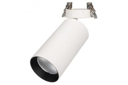 Светильник SP-POLO-BUILT-R95-25W White5000 (WH-BK, 40 deg)