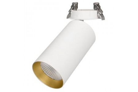 Светильник SP-POLO-BUILT-R95-25W White5000 (WH-GD, 40 deg)