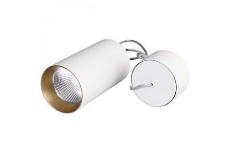 Светильник SP-POLO-HANG-R85-15W White5000 (WH-GD, 40 deg)