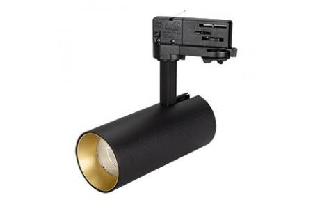 Светильник SP-POLO-TRACK-LEG-R65-8W Day4000 (BK-GD, 40 deg)