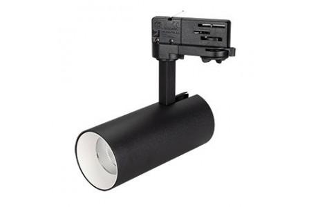 Светильник SP-POLO-TRACK-LEG-R65-8W Day4000 (BK-WH, 40 deg)