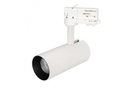 Светильник SP-POLO-TRACK-LEG-R65-8W Day4000 (WH-BK, 40 deg)