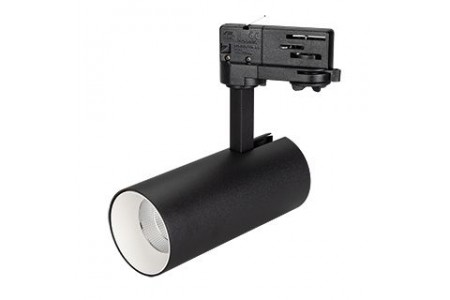 Светильник SP-POLO-TRACK-LEG-R65-8W Warm3000 (BK-WH, 40 deg)