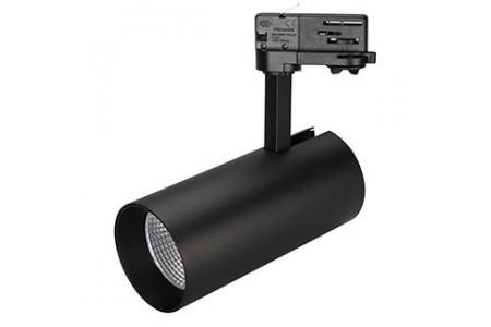 Светильник SP-POLO-TRACK-LEG-R85-15W Day4000 (BK-BK, 40 deg)