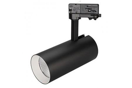 Светильник SP-POLO-TRACK-LEG-R85-15W Day4000 (BK-WH, 40 deg)