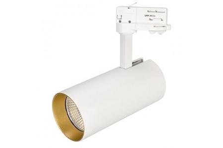 Светильник SP-POLO-TRACK-LEG-R85-15W Warm3000 (WH-GD, 40 deg)