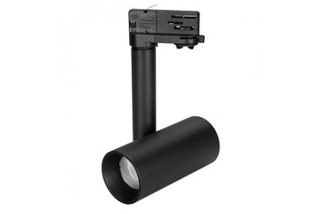 Светильник SP-POLO-TRACK-PIPE-R65-8W Warm3000 (BK-BK, 40 deg)