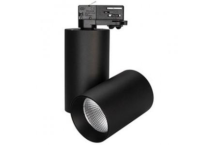 Светильник SP-POLO-TRACK-TURN-R85-15W Warm3000 (BK-BK, 40 deg)
