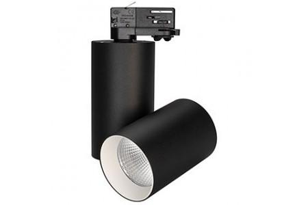 Светильник SP-POLO-TRACK-TURN-R85-15W Warm3000 (BK-WH, 40 deg)