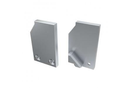 Заглушка для ALM-GLASS-10 левая глухая