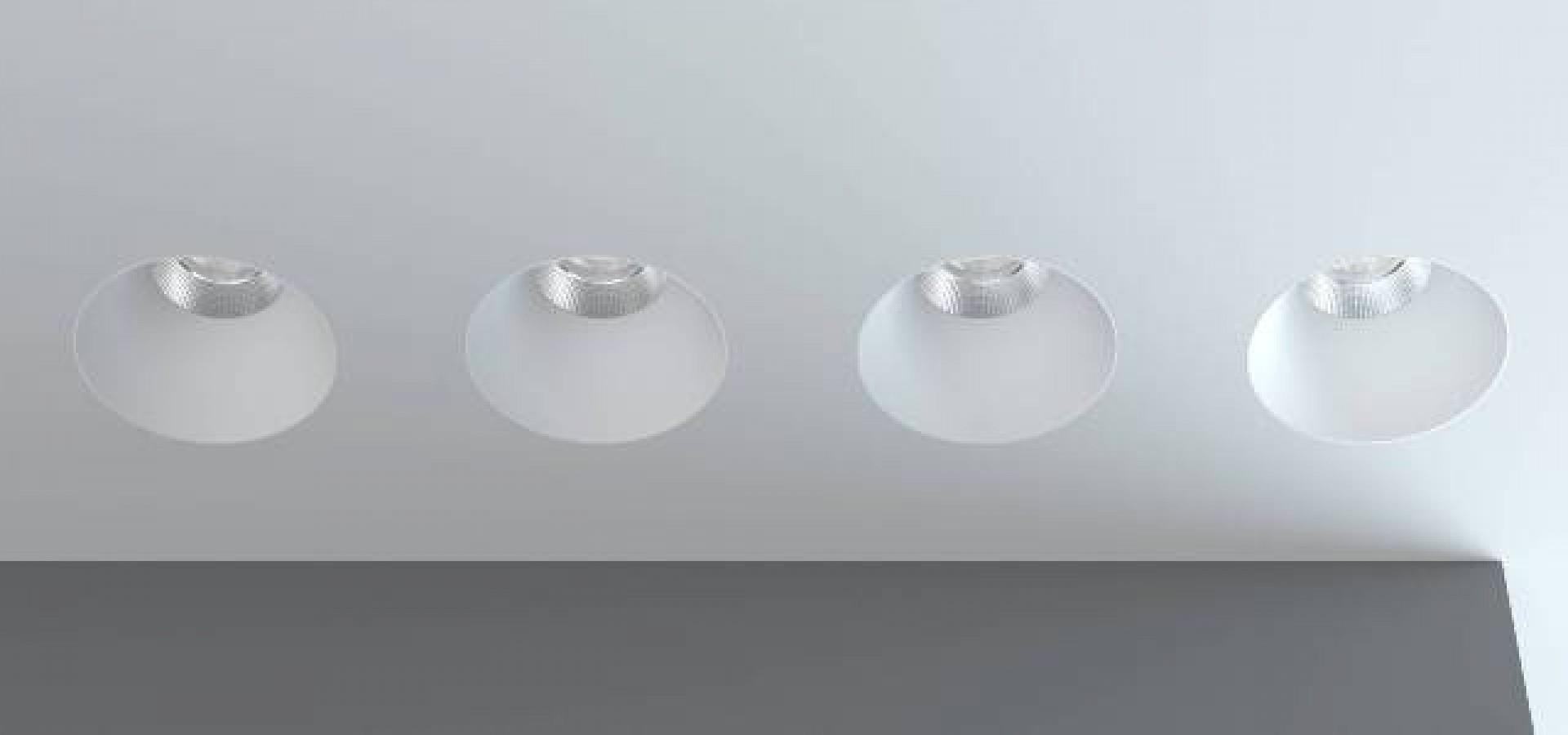 О встраиваемых светильниках под покраску