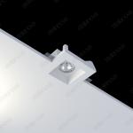Гипсовый светильник под покраску Maia Flat sn 002